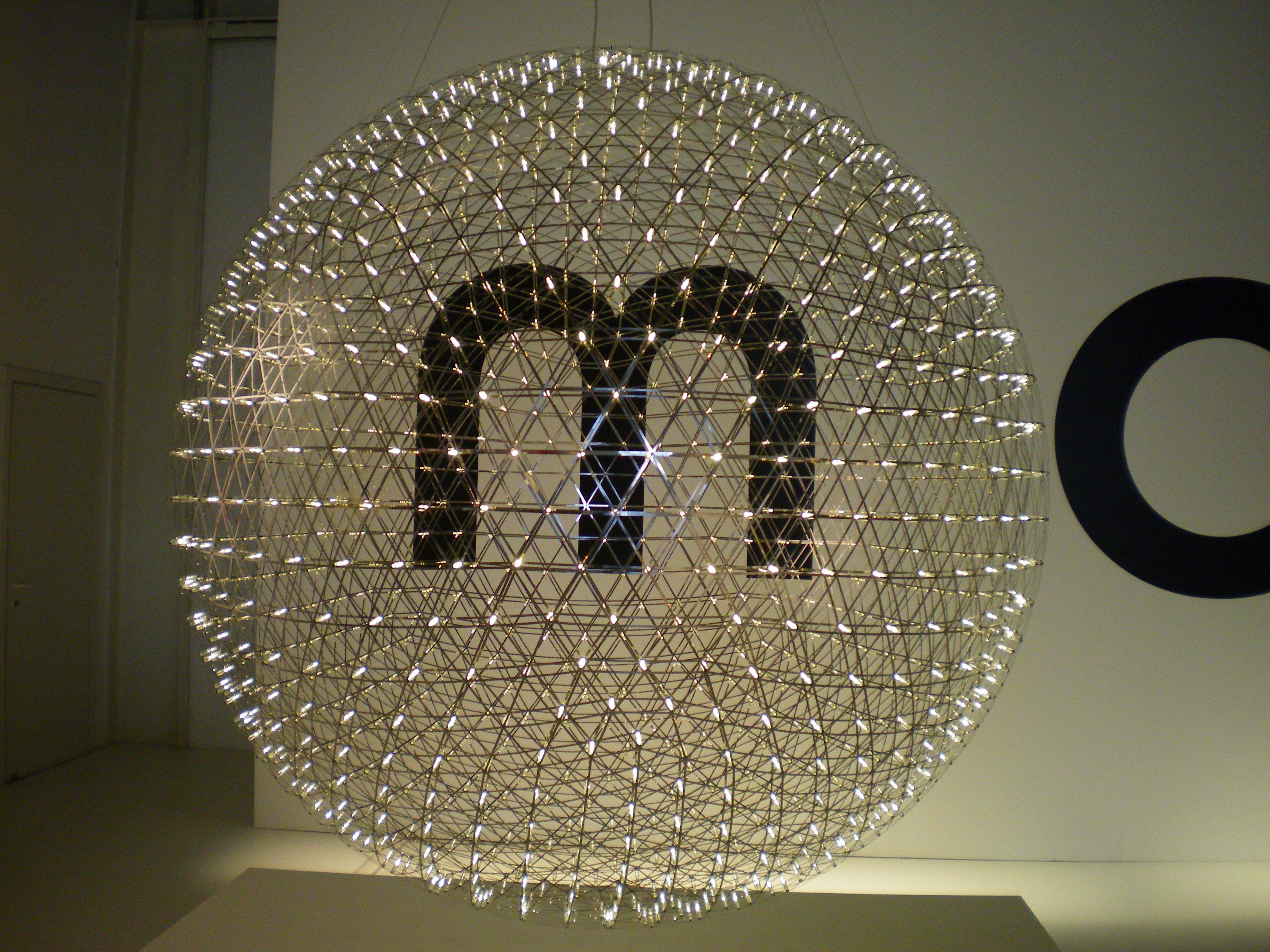LED lamp Raimod by Raimond Puts for moooi ... as seen in Milan 2009