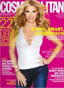 Cosmopolitan Cover (Ausgabe 4/2009)