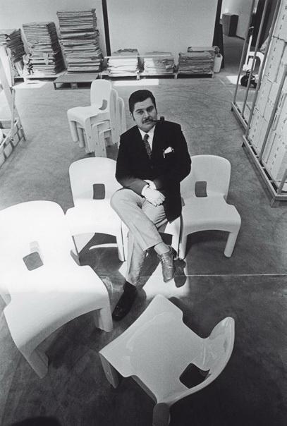 Joe Colombo und sein Universale Stuhl für Kartell