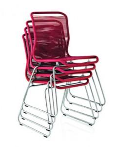 """Der """"Tivoli Chair"""" von Verner Panton (Hersteller: Montana)"""