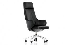 """Der herrschaftliche Sessel """"Skape"""" von Vitra (Foto: Vitra)"""