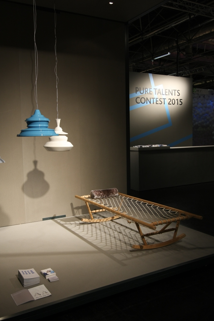 IMM Cologne 2015 Pure Talents Contest solid spin lamp collection johanna tammsalu Nonno Jeannett Hojer Hansen