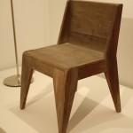 """Ein Stuhl von Hansgeorg Knoblauch (1932), so gesehen bei """"100 Neue Objekte"""", Bauhaus Archiv Berlin"""