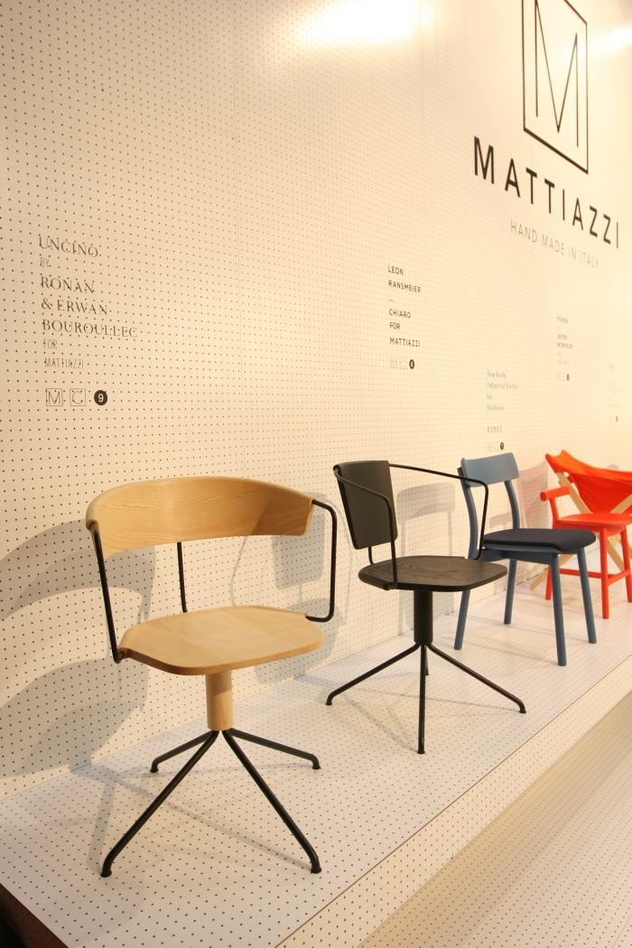 Uncino chair by Ronan & Erwan Bouroullec for Mattiazzi, as seen at Milan Furniture Fair 2015