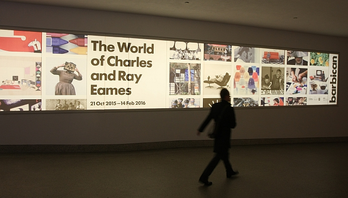 The World of Charles and Ray Eames @ Barbican Art Gallery London