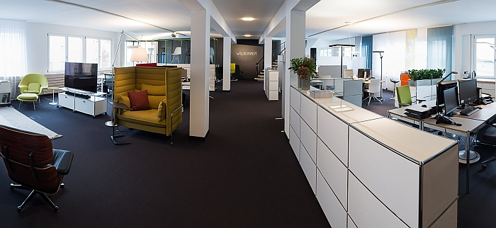 Die neue Büromöbel Etage bei smow Stuttgart