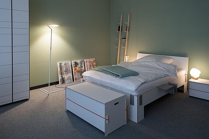 Das Moormann Schlafzimmer bei smow StuttgartDas Moormann Schlafzimmer bei smow Stuttgart