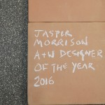 The exhibition A&W Designer of the Year 2016 - Jasper Morrison, Passagen Cologne 2016