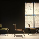 Three versions of the MR 10 by Mies van der Rohe, from three different manufacturers, as seen at Germany versus France. The Struggle over Style 1900-1930, Bröhan Museum Berlin