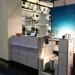 A Check-In desk from USM Airportsystems at Passenger Terminal Expo 2016 Cologne