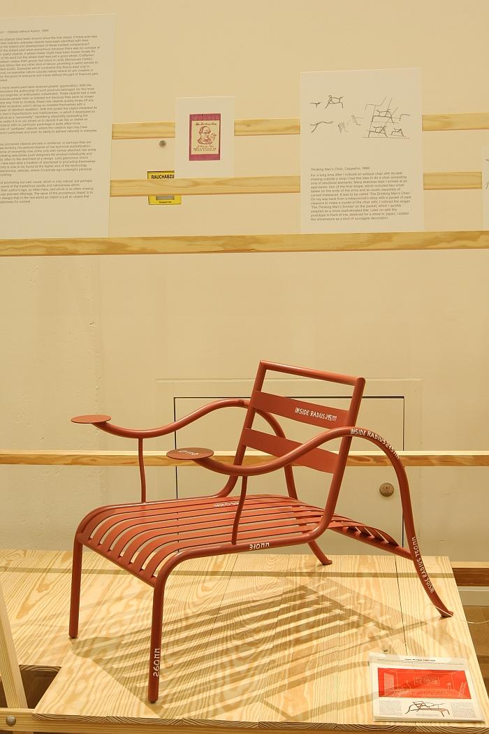 Thinking Mans Chair von Jasper Morrison @ Thingness, Museum für Gestaltung Zürich