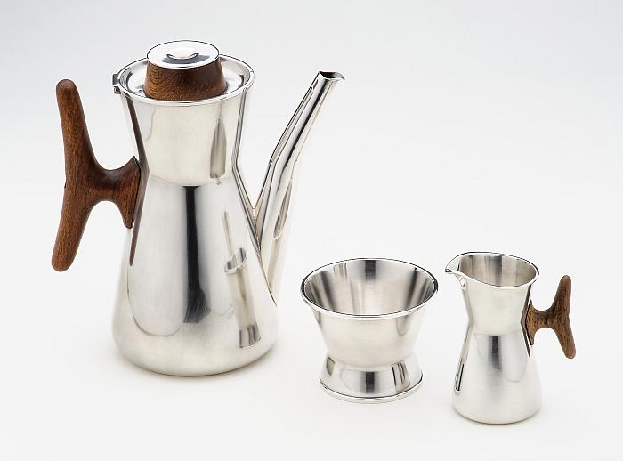 Coffee-pot-sugar-bowl-and-cream-jug-Tapio-Wirkkala-1959-Kultakeskus
