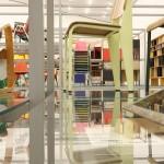 Arbeiten von, unter anderem, Charles & Ray Eames und Jean Prouvé im Vitra Schaudepot