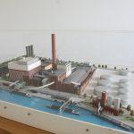 Das Gelände der zukünftigen WerkBundStadt, mit benachbartem Kraftwerk