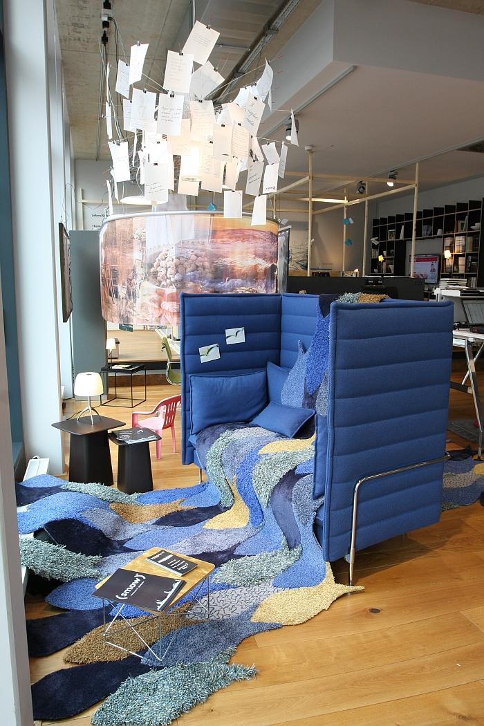 Leben(S)fluss Quelle der Inspiration Fühlen. Spüren. Erleben von Object Carpet @ Waidblicke #2, smow Köln