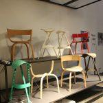 """Prototypen der 404 Kollektion von Stefan Diez für Thonet, gesehen bei """"Full House: Design von Stefan Diez"""", Museum für Angewandte Kunst Köln"""