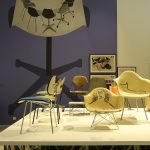 "Eames Chairs, gesehen bei ""Charles & Ray Eames. The Power of Design"", Vitra Design Museum"