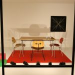 """Teil der Nachempfindung von Charles & Ray Eames' Beitrag zur Ausstellung """"For Modern Living"""", gesehen bei """"Charles & Ray Eames. The Power of Design"""", Vitra Design Museum"""