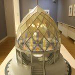 """""""Glashaus"""" von Bruno Taut für die Werkbund Ausstellung Köln 1914, gesehen bei """"Welt aus Glas. Transparentes Design"""", Wilhelm Wagenfeld Haus Bremen"""