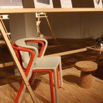 """Air Chair für Magis & Cork Stool Vitra von Jasper Morrison, gesehen bei """"Jasper Morrison - Thingness"""" @ Grassimuseum für Angewandte Kunst Leipzig"""