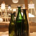 """Green Bottles von Jasper Morrison für Cappellini, gesehen bei """"Jasper Morrison - Thingness"""" @ Grassimuseum für Angewandte Kunst Leipzig"""