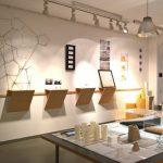 Ausstellung im Institut für Materialdesign, gesehen bei Rundgang 2018, Hochschule für Gestaltung Offenbach