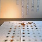 Eine Visualisierung der Einsatzmöglichkeiten von Kakao aus der Klasse What Design Can Do: Kakao, gesehen in Rundgang 2018, Hochschule für Gestaltung Offenbach