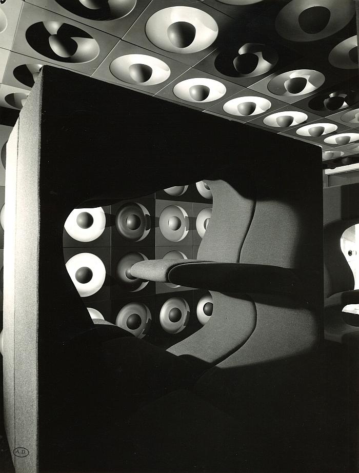 Verner Panton @ Qu'est-ce que le design? Musée des Arts Décoratifs Paris (Foto Pierre Jahan © und mit freundlicher Genehmigung Musée des Arts Décoratifs Paris)