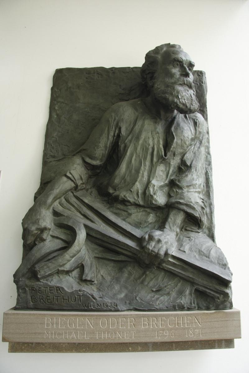 Biegen oder Brechen. Michael Thonet (1796 - 1871)