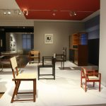 Chairs by Erich Dieckmann, as seen at From Arts and Crafts to the Bauhaus. Art and Design - A New Unity, The Bröhan Museum Berlin