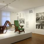 Chairs by Josef Hoffmann, Charles Bevan & Marcel Breuer, as seen at From Arts and Crafts to the Bauhaus. Art and Design - A New Unity, The Bröhan Museum Berlin
