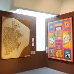 """Vidhyadhar Nagar als Plan und Collage, """"Balkrishna Doshi. Architektur für den Menschen"""", Vitra Design Museum"""