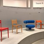 Works by Team Form Schweiz, Gruppe 61 & Verner Panton, as seen at Thonet & Design, Die Neue Sammlung - The Design Museum, Munich