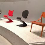 Works by Rudolf Glatzel, Verner Panton & Eddie Harlis, as seen at Thonet & Design, Die Neue Sammlung - The Design Museum, Munich