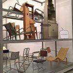 Ein Eileen Gray Sideboard, äußert sich zur Geschlechterbilanz im Vitra Design Museum Schaudepot