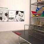 Ein Manga Chair von Nendo, gesehen bei Living in a Box. Design and Comics, Vitra Design Museum Schaudepot