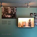 """Objekte aus Le Corbusiers Wohnung in der 20, Rue Jacob, gesehen bei """"Mon univers, Pavillon Le Corbusier, Zürich"""