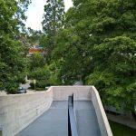 Weg zum Loungebereich auf dem Dach........