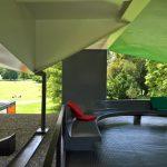 Loungebereich auf dem Dach........