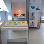 Interactive Colour Laboratory von Enzo Zak Lux, gesehen bei Rundgang 2019, Kunsthochschule Berlin Weissensee