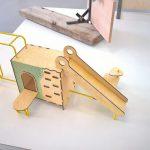 """Kamea Devons """"Playground"""", ein Teil der Klasse """"Standard"""", gesehen bei Rundgang 2019, Universität der Künste Berlin"""