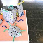 """""""Wurm Werkstatt"""" von Katharina Bellinger, gesehen bei Rundgang 2019, Universität der Künste Berlin"""