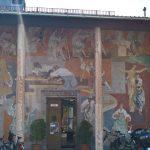 Wandmalerei ist zwar kein Studiengang der Schulen für Holz und Gestaltung Garmisch-Partenkirchen, wird aber praktiziert