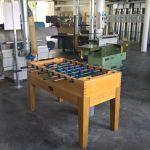 Die Werkstätten in Garmisch-Partenkirchen sind mit allem ausgestattet, was man für einen produktiven Tag benötigt.