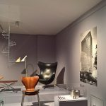 """Arbeiten von Arne Jacobsen, gesehen bei """"Nordic Design. Die Antwort aufs Bauhaus"""", Bröhan Museum, Berlin"""