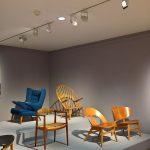 """Designs aus Dänemark von Børge Mogensen, Hans J Wegner & Finn Juhl, gesehen bei """"Nordic Design. Die Antwort aufs Bauhaus"""", Bröhan Museum, Berlin"""
