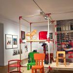 Children's chairs, as seen at Nordic Design. Die Antwort aufs Bauhaus, Bröhan Museum, Berlin