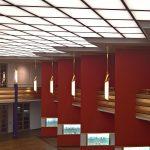 Die Pfeilerhalle im Grassi Museum für Angewandte Kunst Leipzig