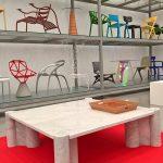 """Jumbo von Gae Aulenti für Knoll, gesehen bei """"Gae Aulenti. Ein kreatives Universum"""", Vitra Design Museum Schaudepot"""