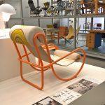 """Locus Solus Sessel by Gae Aulenti für Poltronova, gesehen bei """"Gae Aulenti. Ein kreatives Universum"""", Vitra Design Museum Schaudepot"""